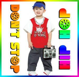 icona hip hop bambini 6 anni