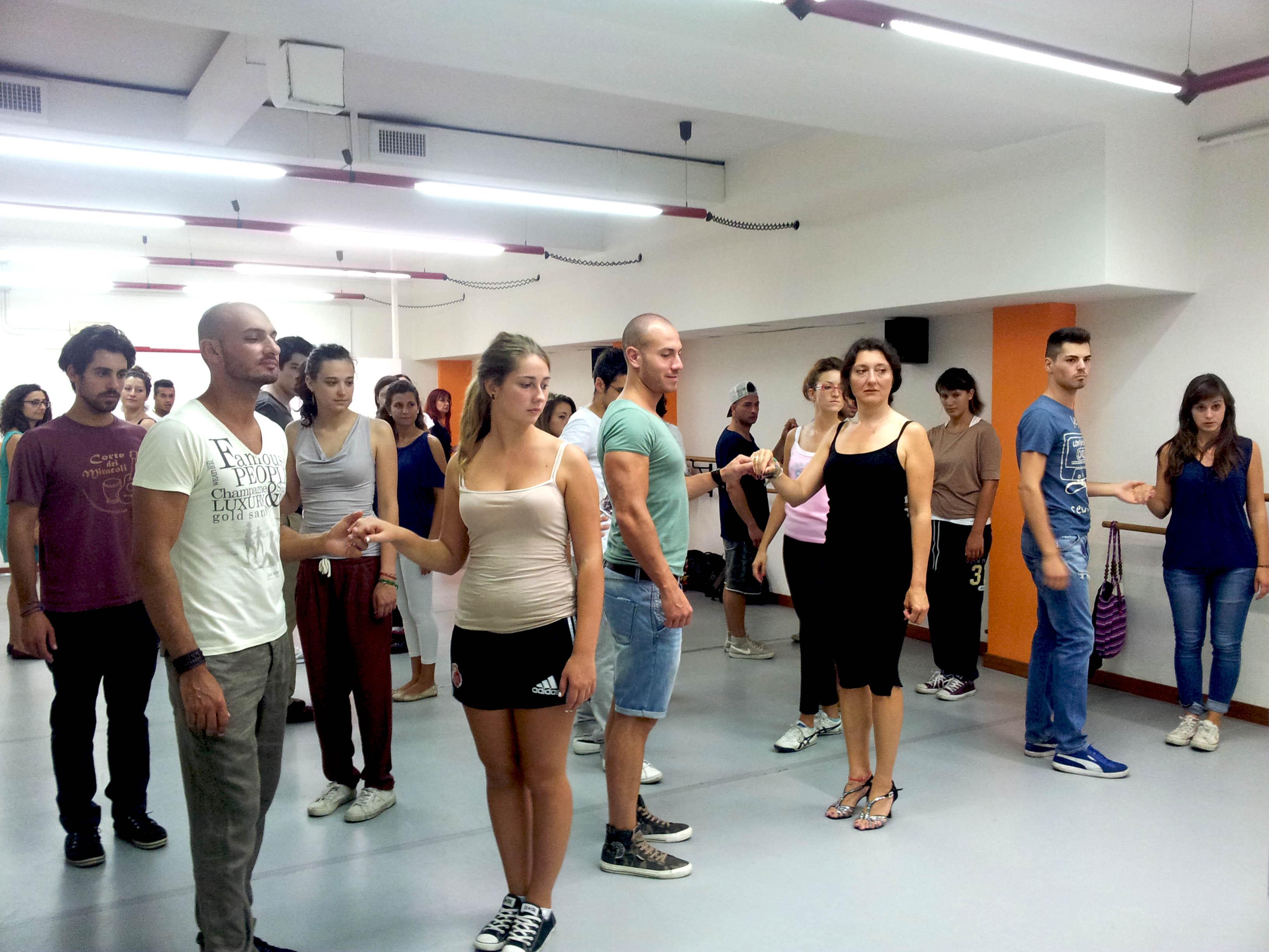 latino americano a Milano alla phoenix studio dance