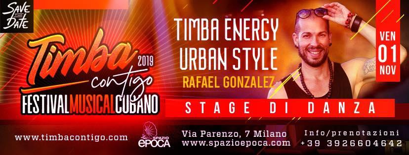 Stage di Timba con Rafael Gonzales a Milano