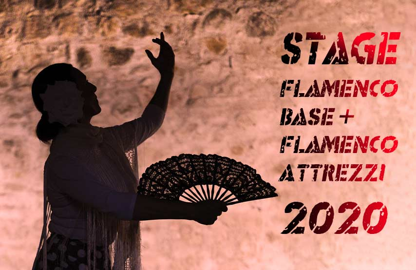 Stage di Flamenco base e Flamenco con attrezzi 2020