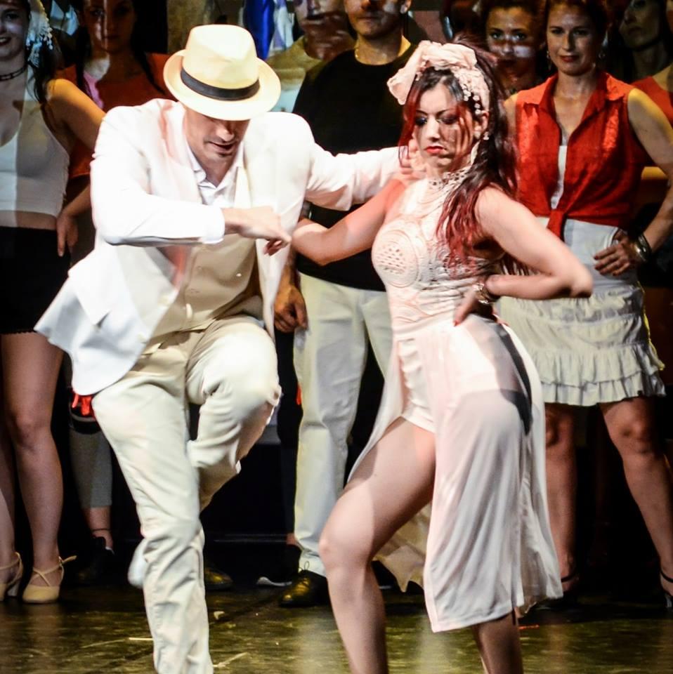 affitto di spettacoli con ballerini di latino americano