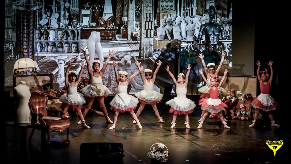 danza classica per bambini a Milano alla phoenix studio dance a.s.d.