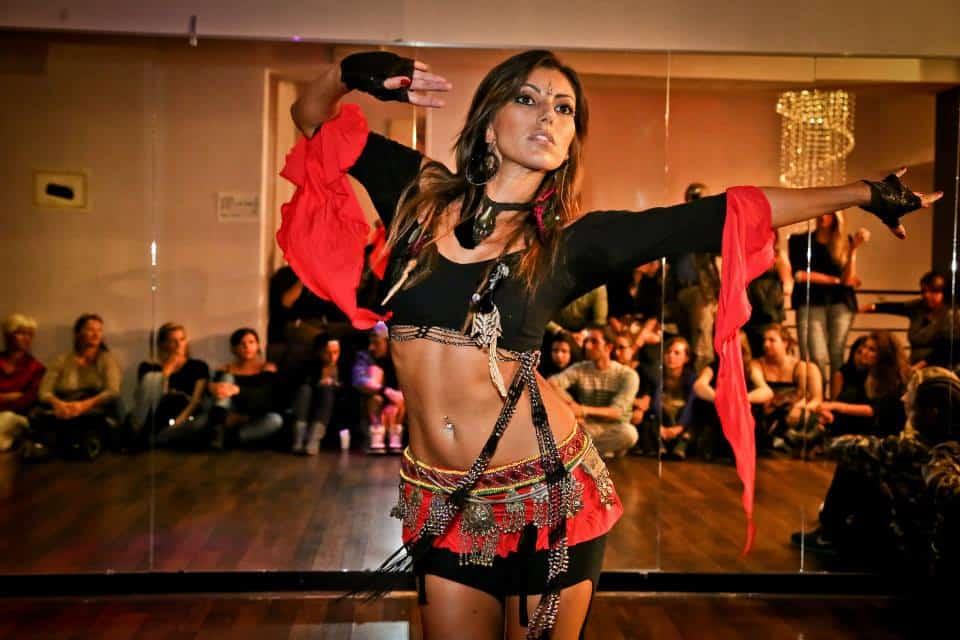 danza del ventre fusion a Milano alla Phoenix a.s.d.