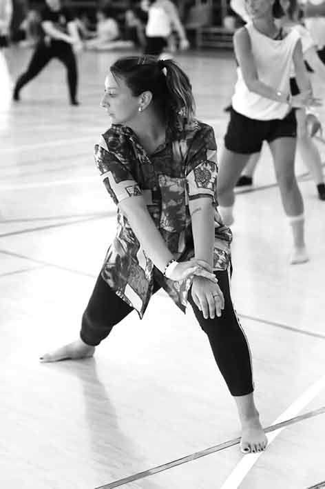 insegnante di danza moderna Michela de angelis