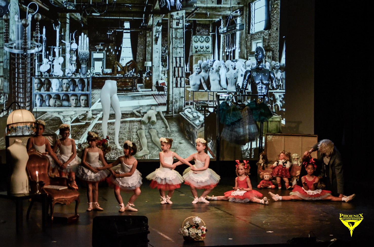 lezioni di danza classica per bambini a Milano Phoenix a.s.d.