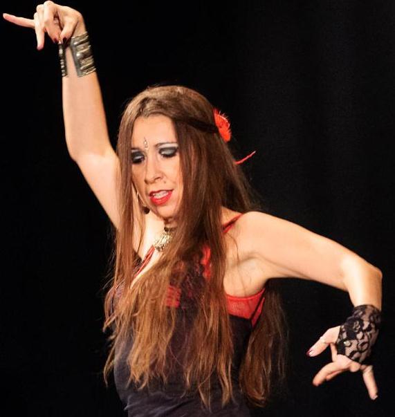 lezioni di flamenco a Milano con Valeria Guatta