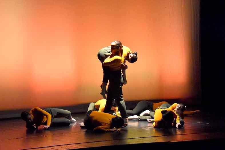coreografia di Modern