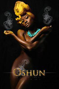 Ochun è un Orisha della Santeria religione Afro Yoruba