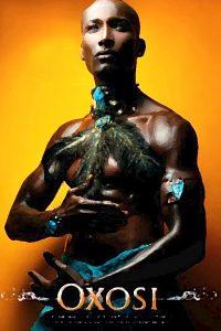 Oshosi è un Orisha della Santeria religione Afro Yoruba