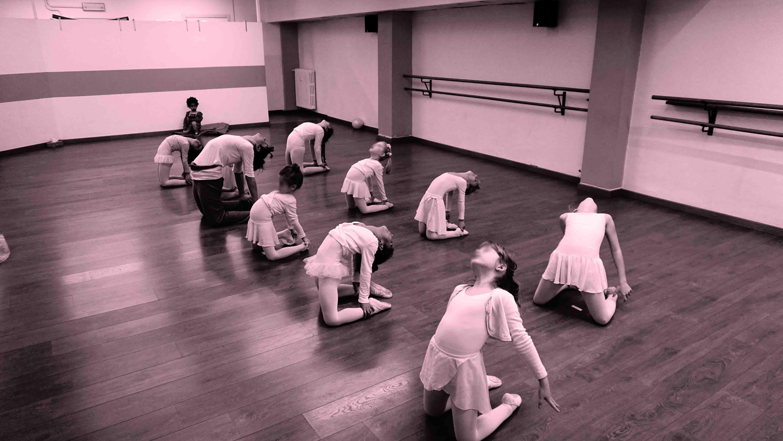 bambini della scuola di danza a Milano Phoenix a.s.d.