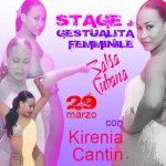 stage di gestualità femminile con Kirenia